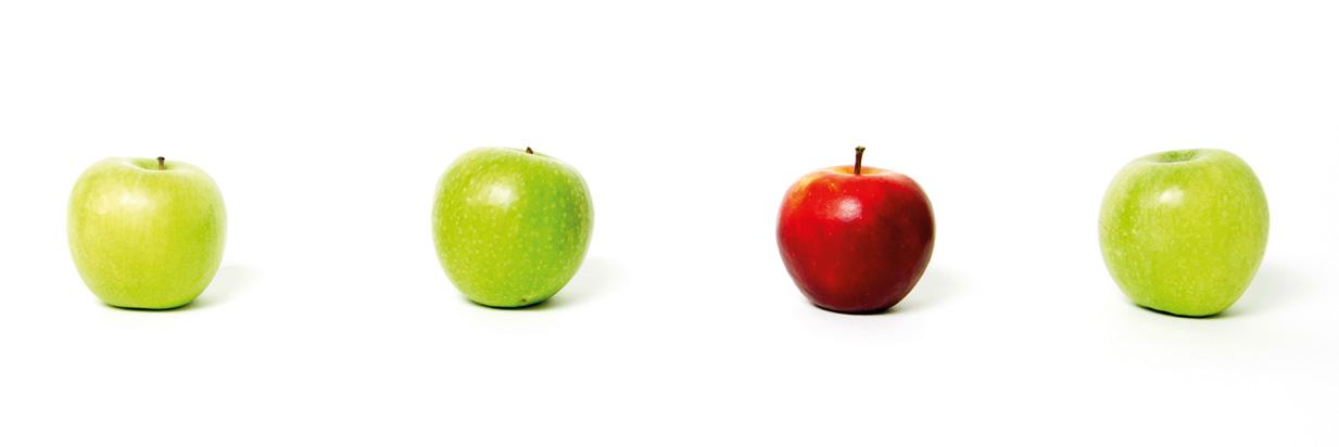 Zahnmedizin Äpfel